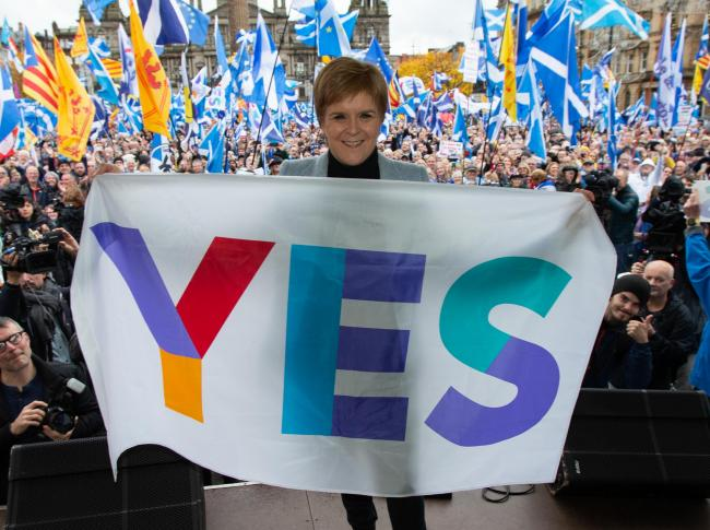 First Minister Nicola Sturgeon can lead us to independence and keep Scotland a part of the European Union