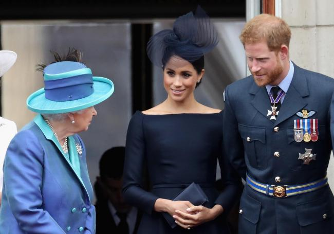The Queen was apparently disappointed with Meghan Markle and Prince Harry for their announcement on Wednesday