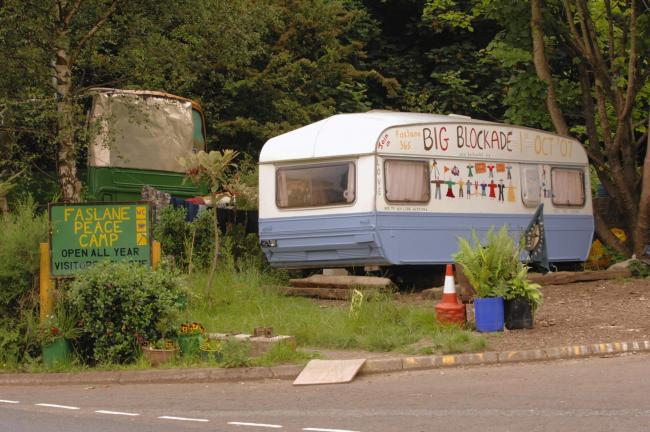 Donations of cash, food or anything else are gratefully received by Faslane Peace Camp