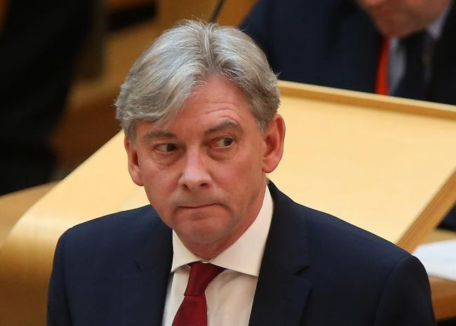 Richard Leonard wanted to raise the possibility of holding a meeting in the spring