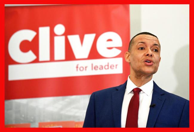 Clive Lewis dropped out ahead of the 2.30pm deadline