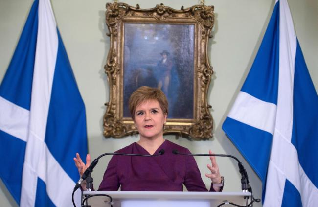 Nicola Sturgeon had requested the powers be transferred following the SNP's election win