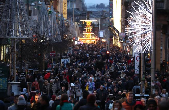 The adjusted figures reveal a tougher Christmas on the high street than previously thought