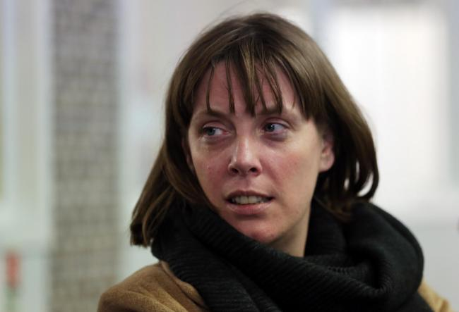 Jess Phillips visited Glasgow yesterday