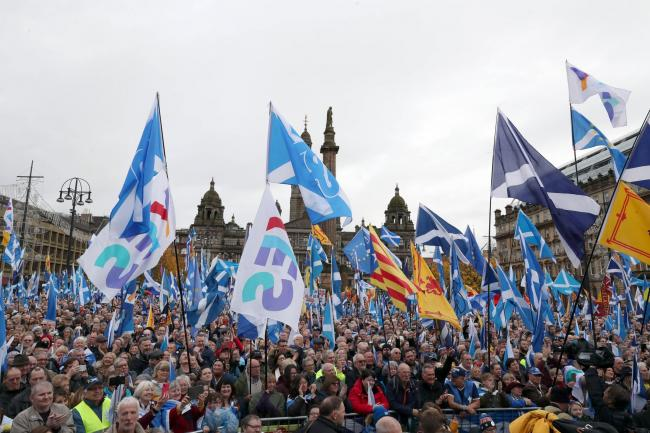 The poll found 52% of people in Scotland support indyref2