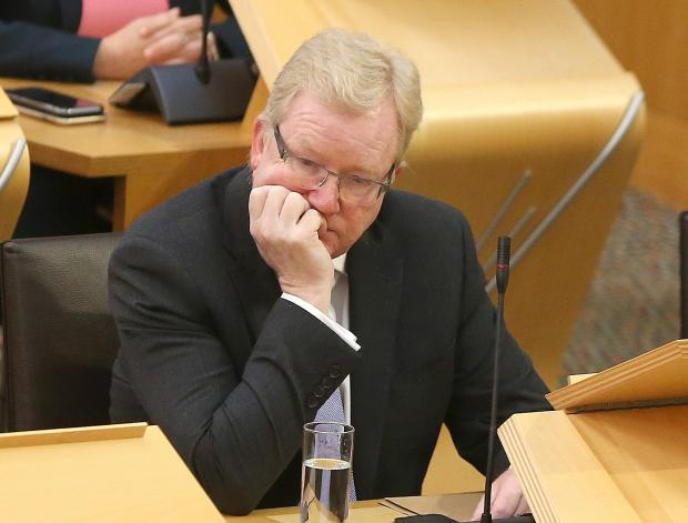 The National: Interim Scottish Tory leader Jackson Carlaw