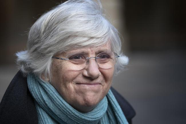 Clara Ponsati will await a ruling on her immunity as a MEP from European authorities