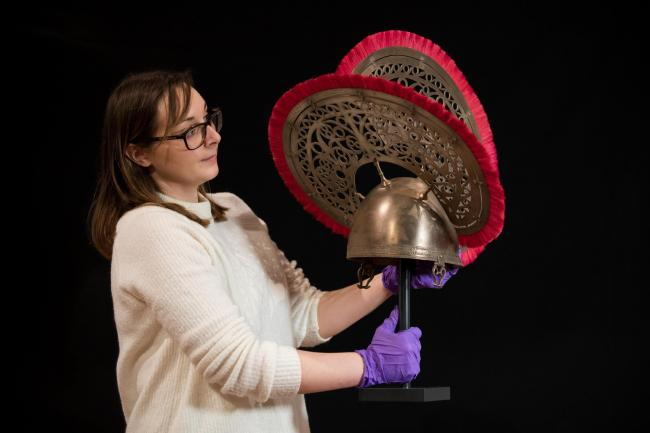 Amy Roberts, collections officer at the Novium Museum