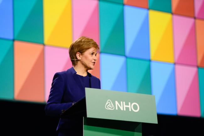 Nicola Sturgeon addressed business leaders in Oslo recently as Scotland looks to strengthen ties with northern neighbours