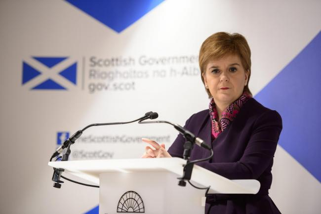 First Minister Nicola Sturgeon will continue onwards with independence despite Boris Johnson's rejection