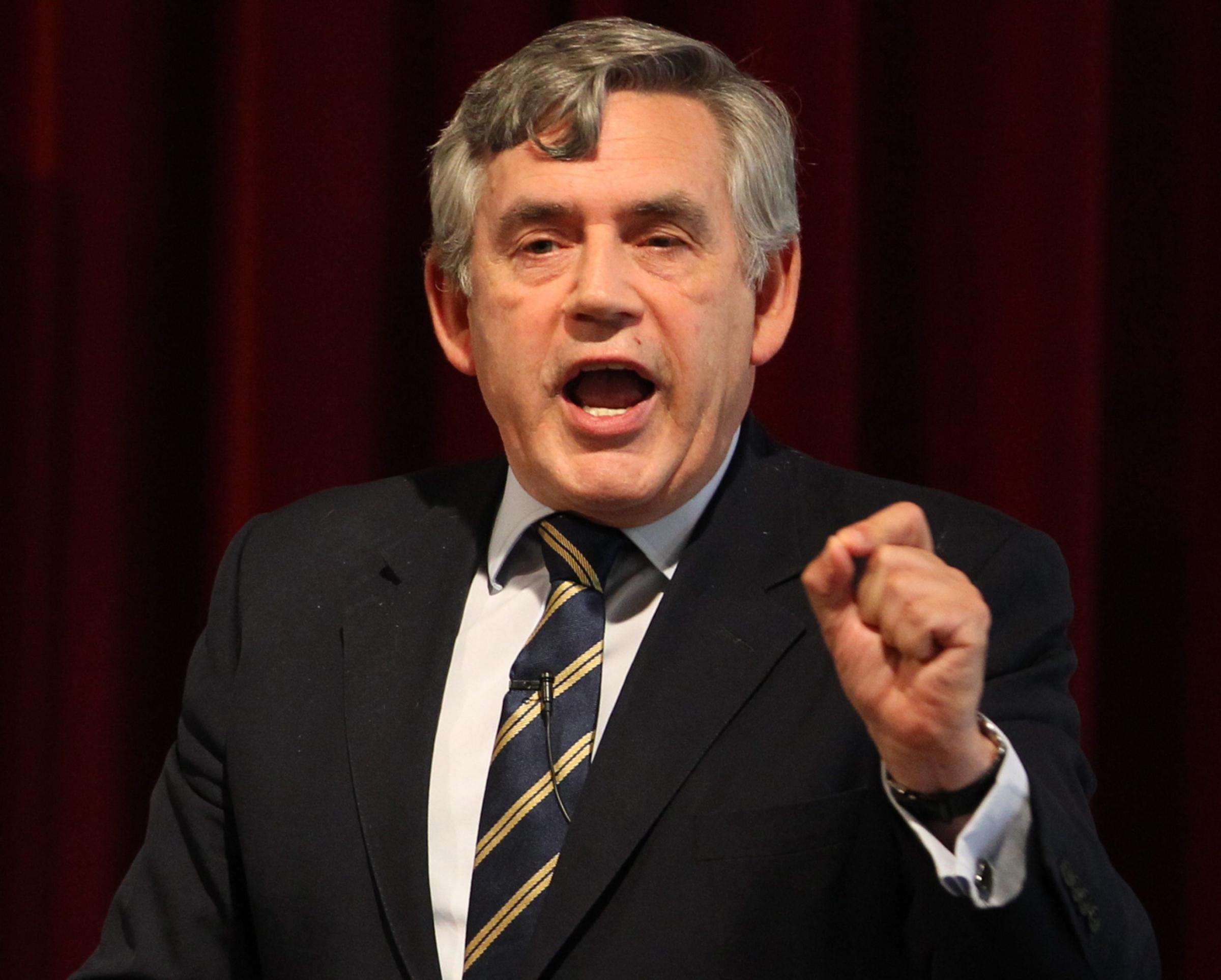 Former prime minister Gordon Brown continues calls for UK status quo