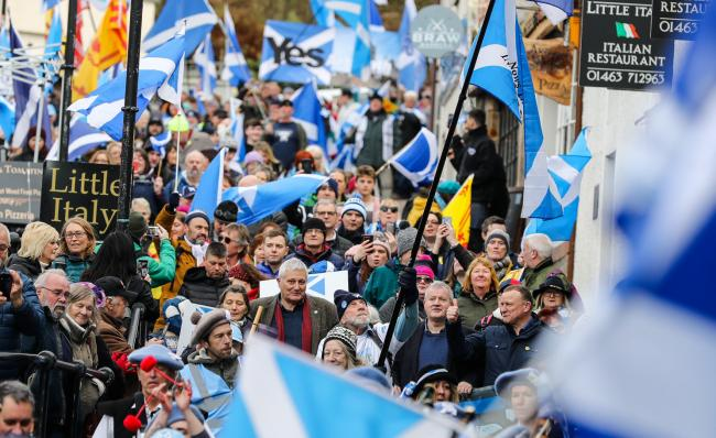 The 'absolutely spectacular' Inverness march for Scottish independence is one of the many to have already taken place this year