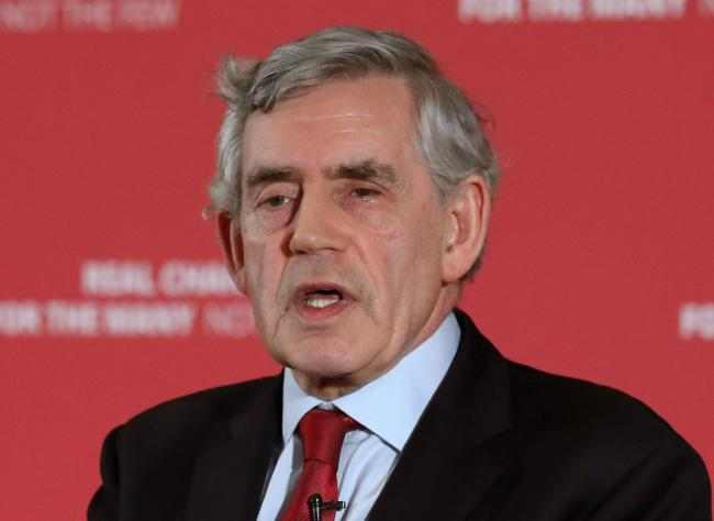At every opportunity, Gordon Brown plays down the right of Scotland to decide its own destiny