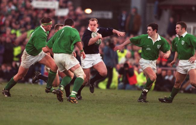 Greg Townsend takes on Ireland in 1998