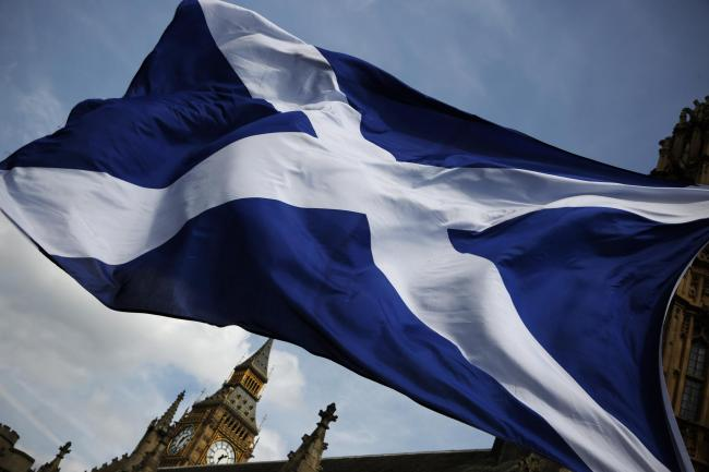 The poll found Scotland is the most pro-EU country in the UK