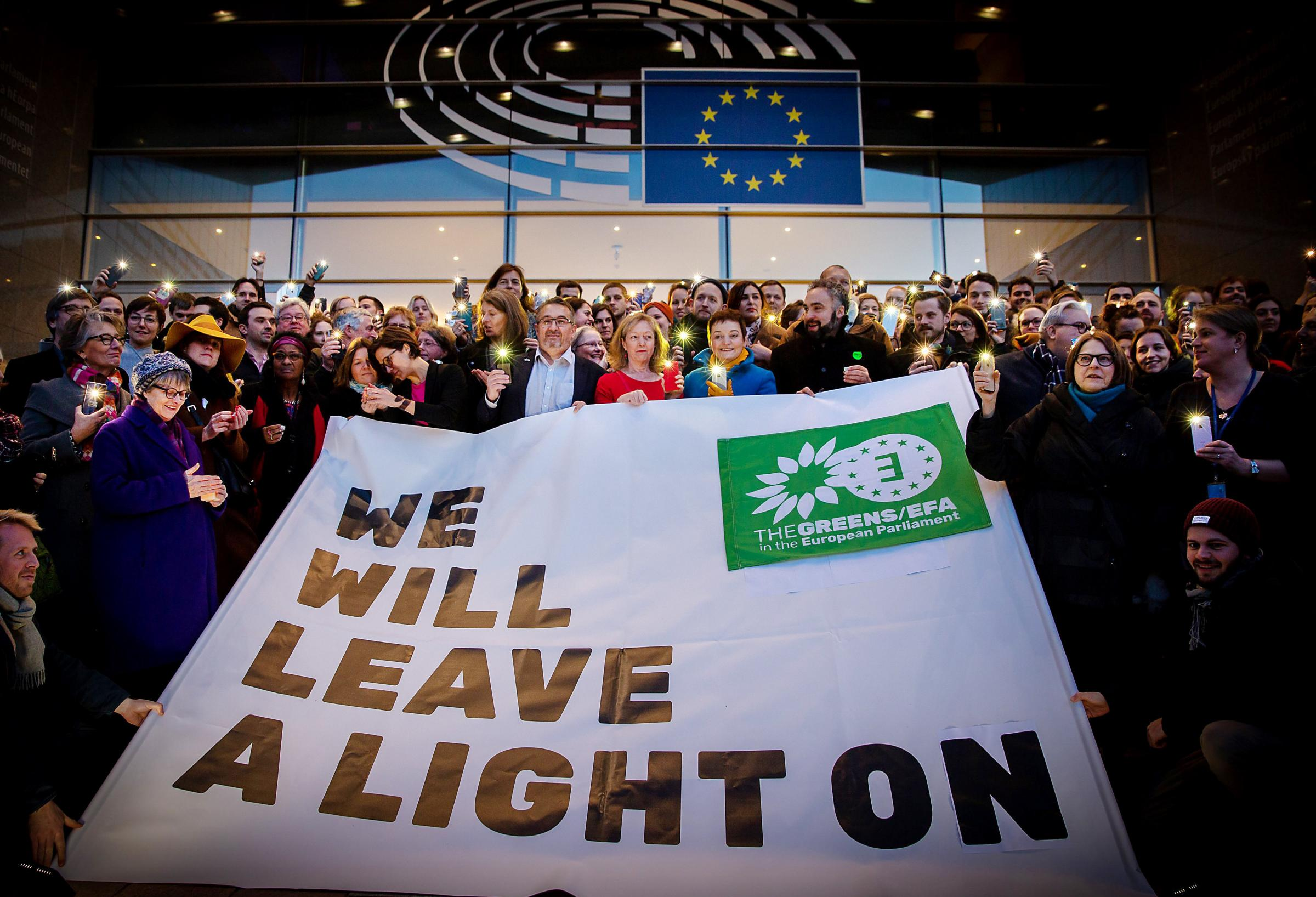 MEPs 'leave a light on' for Scotland's return to the EU