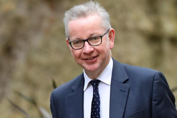 The National: Chancellor of the Duchy of Lancaster Michael Gove