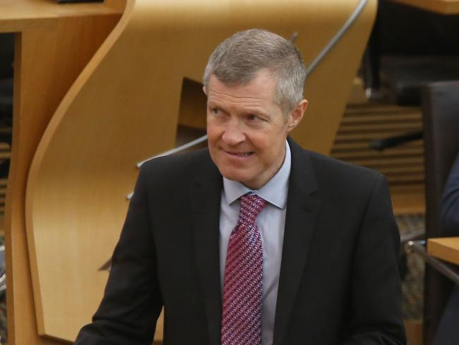 The Scottish LibDems leader was met with an outburst of laughter in the Scottish Parliament chambers after claiming he is