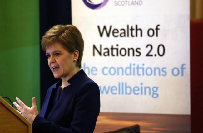 Nicola Sturgeon will say 'there is the prospect of a brighter, better future as an equal, independent European nation'