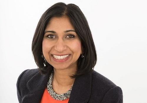 Tory MP Suella Braverman pledged: 'This new chapter will be one of people power, democracy and prosperity'