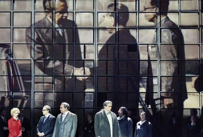 The opera inspired by Richard Nixon's visit to China returns to Scottish stages for the first time in more than 30 years