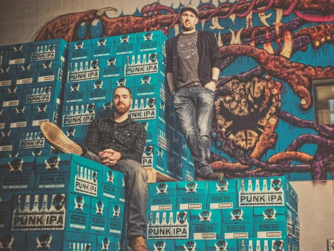 BrewDog, founded by Martin Dickie, left, and James Watt, remains something of a sweet spot for community empowerment