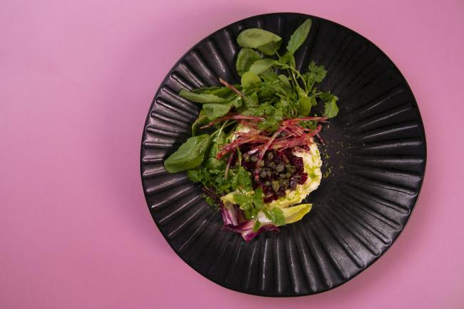 Lavender infused ricotta with beetroot & lime tartare could make the perfect Valentine's dish