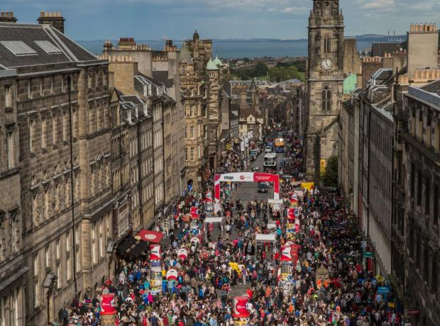 The National: The festival aimed to make Edinburgh 'the cultural resort of Europe'