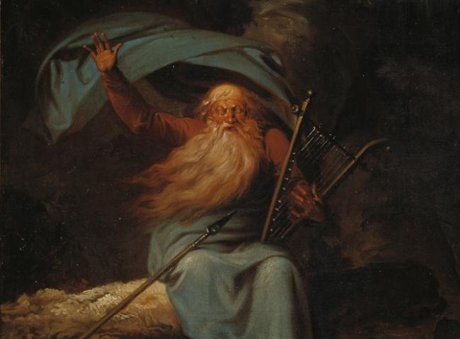 The image of 'Ossian after the Fianna' is one of the most lasting evocations of haunting and loss that underpin many depictions of the Gaelic world