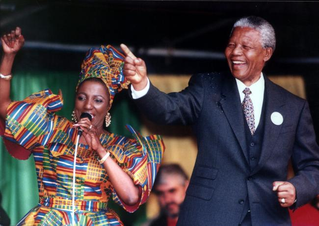 Nelson Mandela spoke at George Square in 1993 in front of 10,000 people