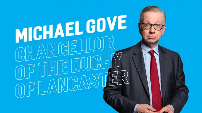 Michael Gove's superpower would see him morph into slime and be able to sneak under doors and the like