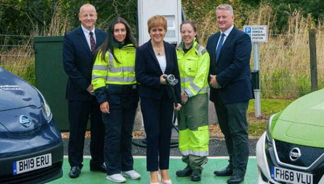 First Minister Nicola Sturgeon announced a strategic partnership last August