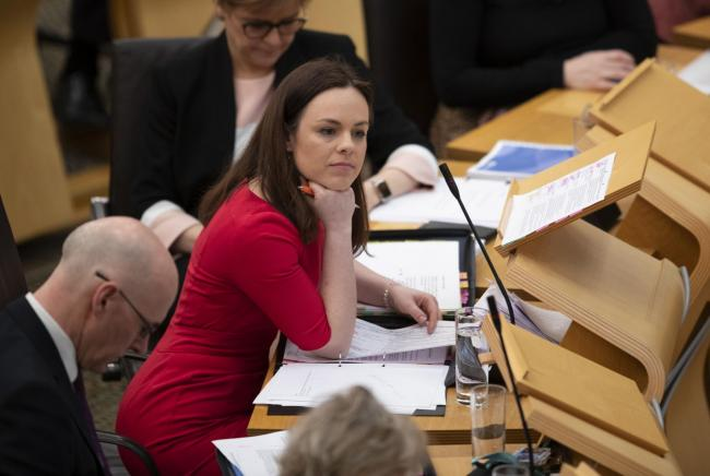 Public Finance Minister Kate Forbes stepped in to deliver the Scottish Budget last week