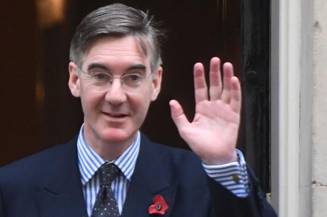 Jacob Rees-Mogg enjoys the chance to show off on national TV