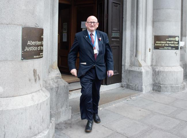 Ex-Tory councillor - now independent - Alan Donnelly was found guilty of sexual assault. Photograph: The Courier