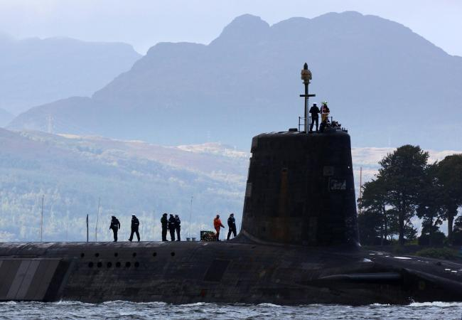 Warheads for the UK's nuclear submarines are stored at Coulport