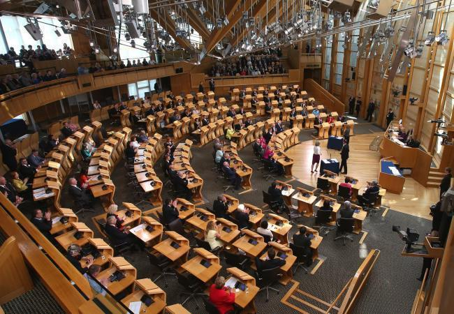 Holyrood is scaling back events amid the Covid-19 outbreak