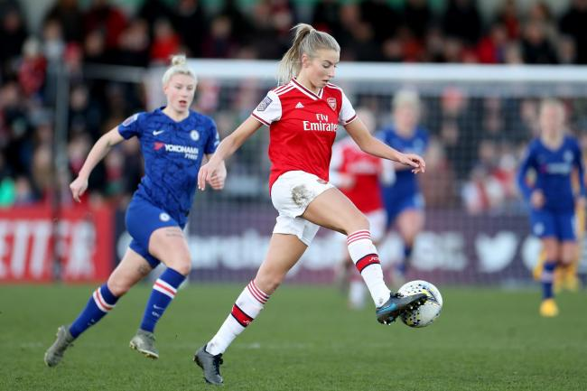 Arsenal's Women's FA Cup tie against Lewes fell victim to Storm Dennis