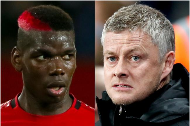Manchester United boss Ole Gunnar Solskjaer says Paul Pogba is desperate to play for the club