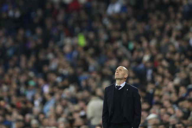 Real Madrid head coach Zinedine Zidane rues two points dropped by his side