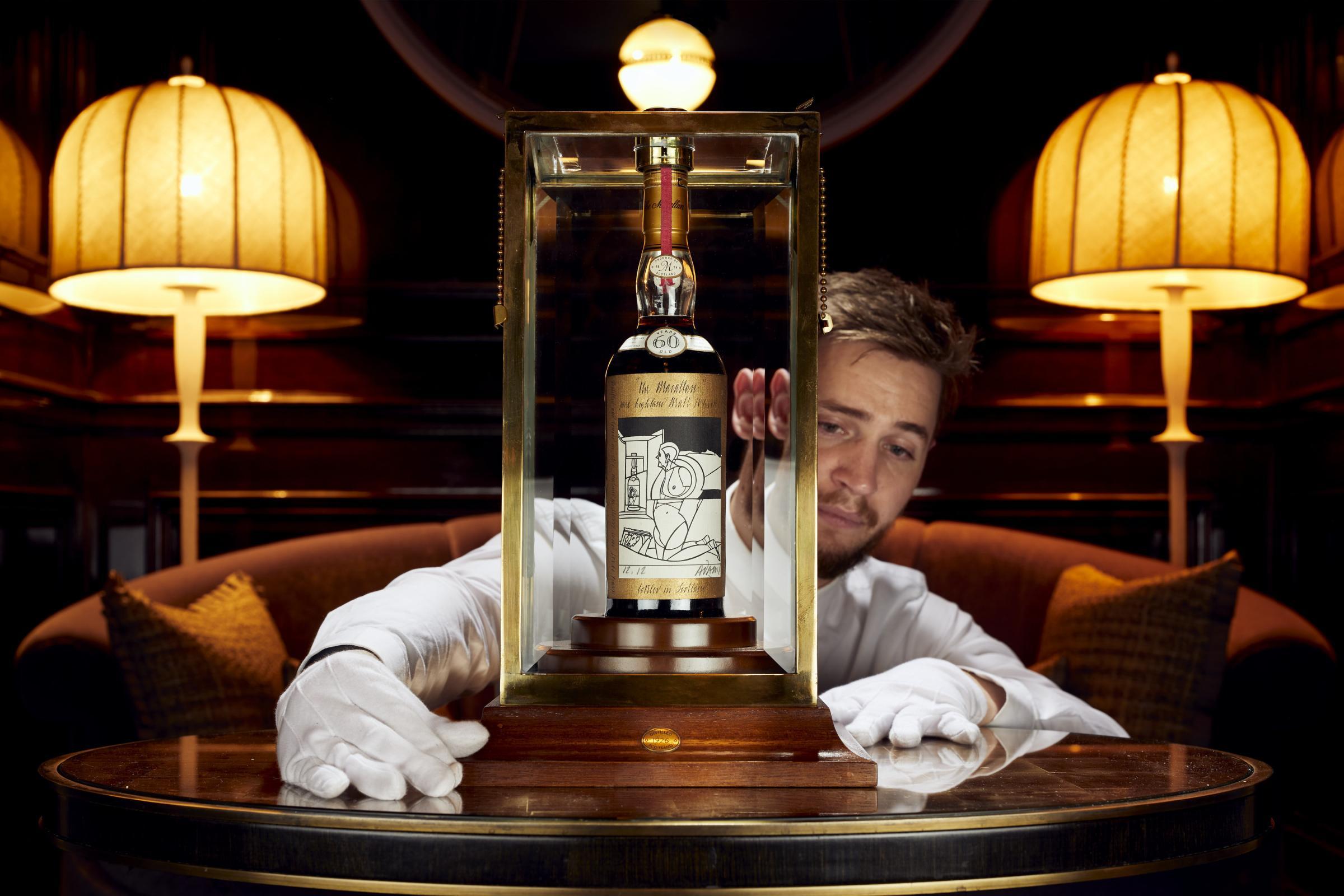 Rare Scottish whisky sets new world record for highest price