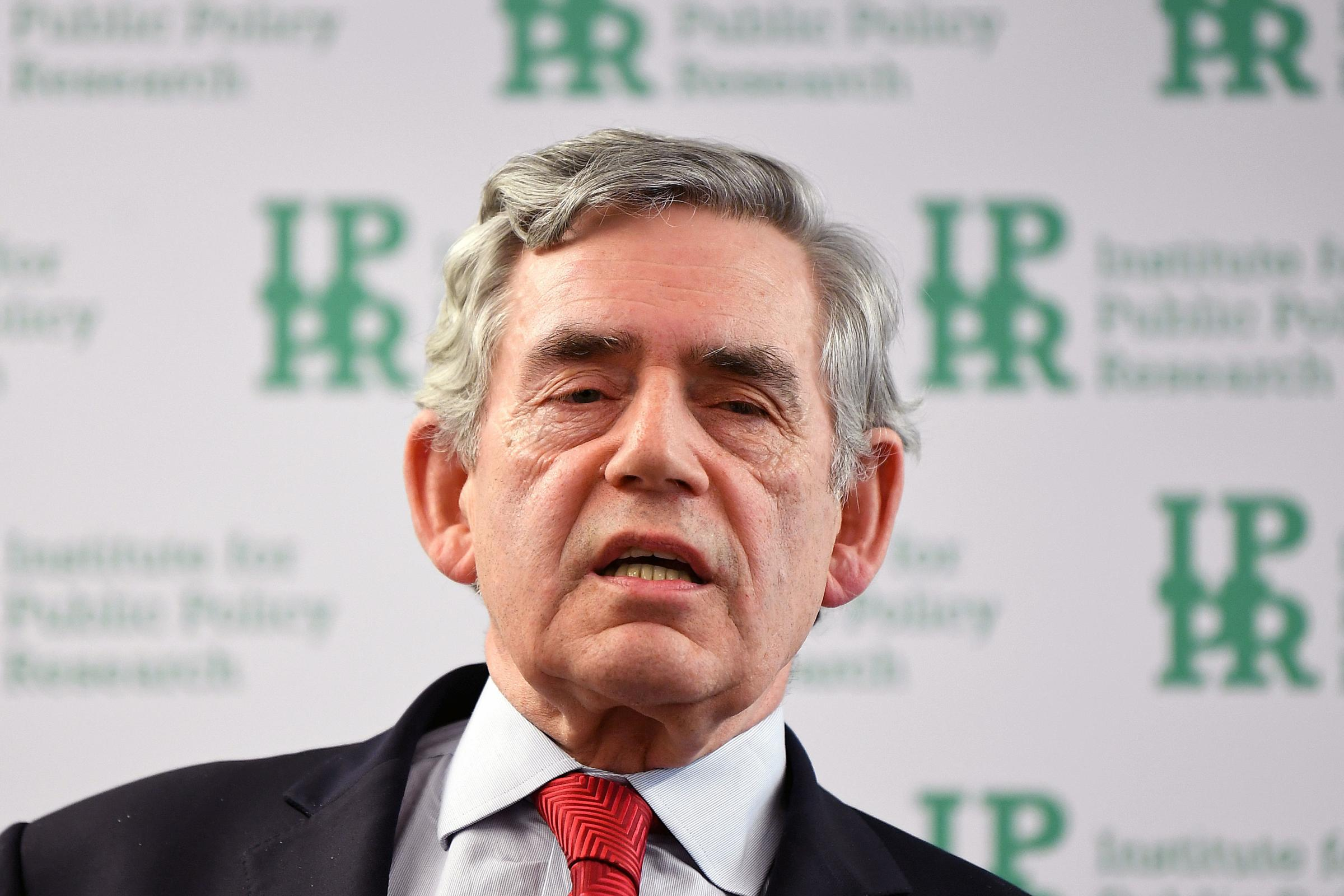 READ: Twitter's reaction to Gordon Brown's 'divided Scotland' remarks
