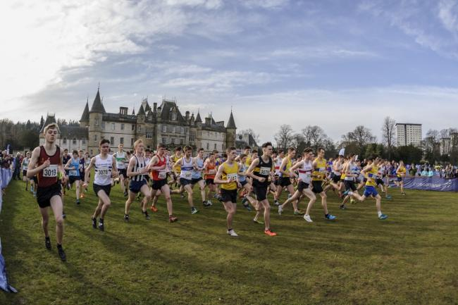Thousands to brave the elements at National XC Champs in Falkirk. Pic- Bobby Gavin