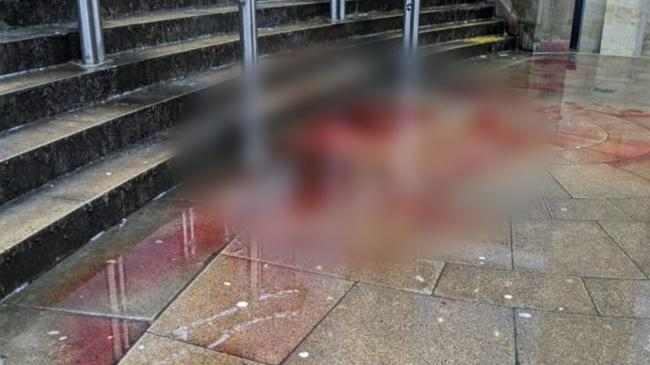 Mystery as Glasgow Royal Concert Hall steps covered in large amount of blood