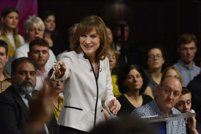 Question Time host Fiona Bruce allowed the woman to rant about immigrants during last week's show, which was broadcast from Weymouth