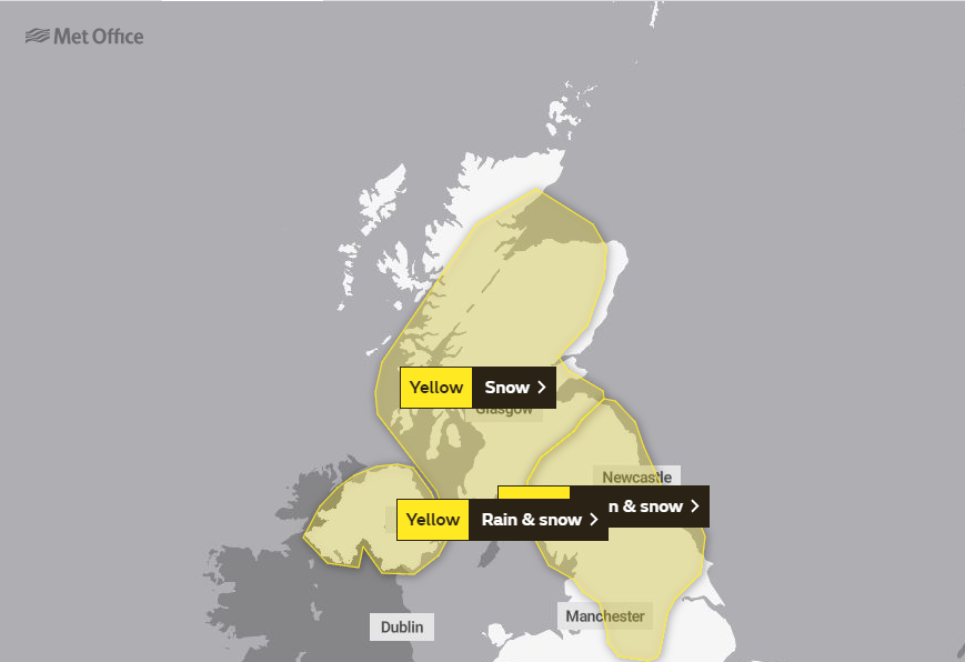 Weather: Further yellow warnings for much of Scotland - national scot