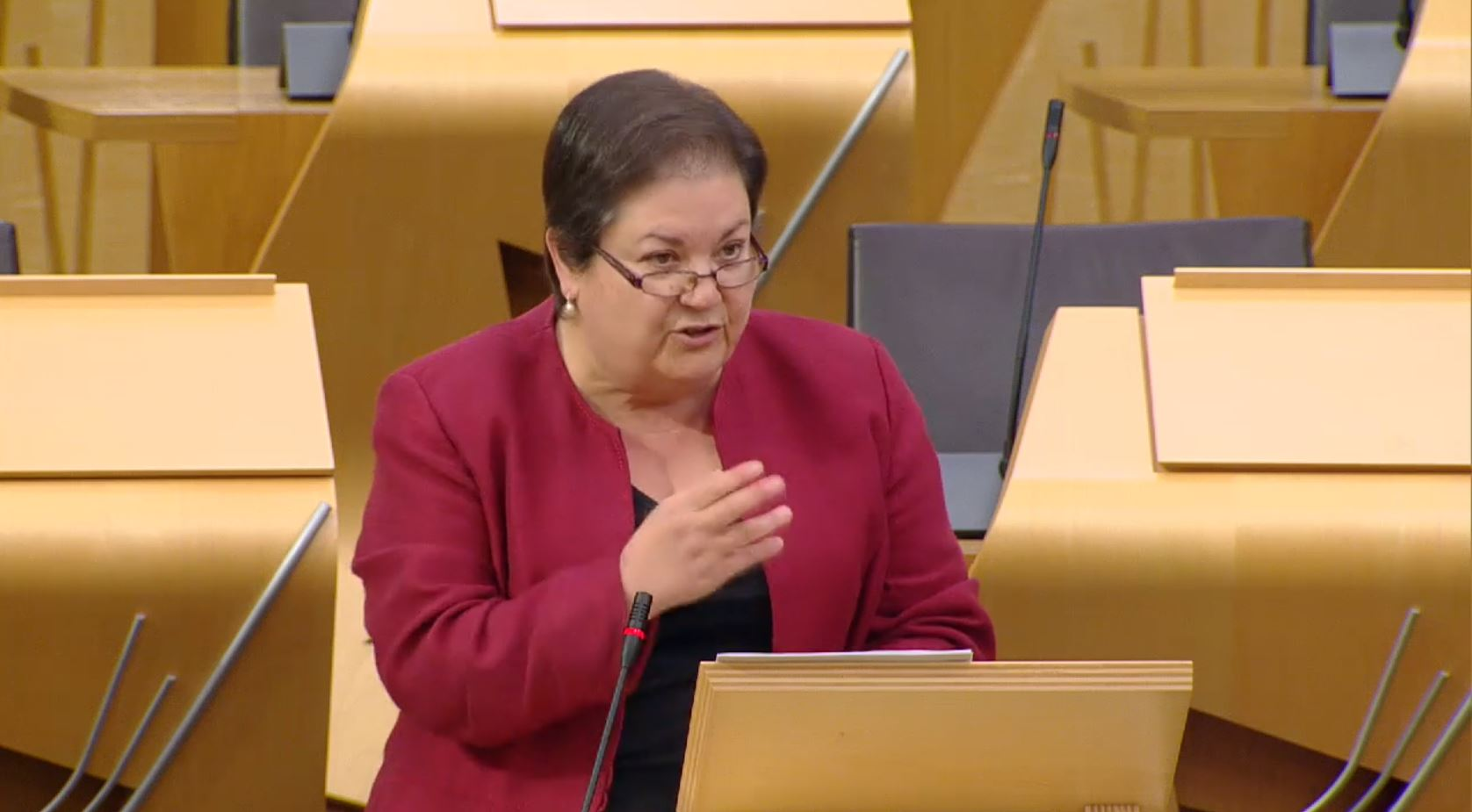 Who is Jackie Baillie, the front runner to become Scottish Labour deputy leader?