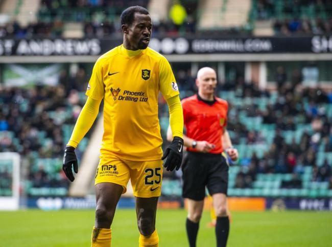 Efe Ambrose recently signed an 18-month contract with Livingston