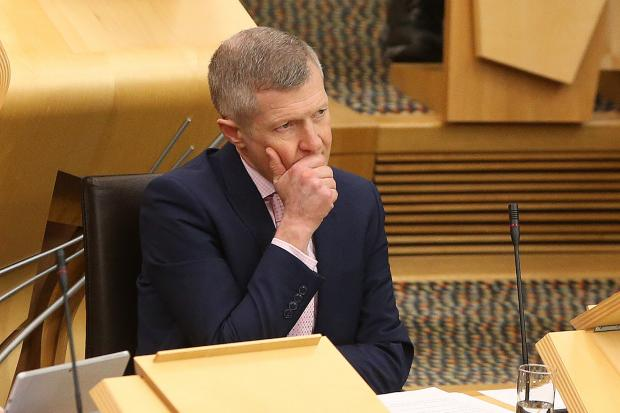 Scottish LibDem leader Willie Rennie opted for an usual line of attack at this week's FMQs
