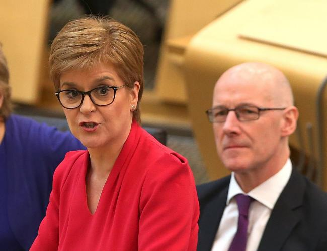 Nicola Sturgeon was asked about the Scottish Government's stance on a third runway at Heathrow